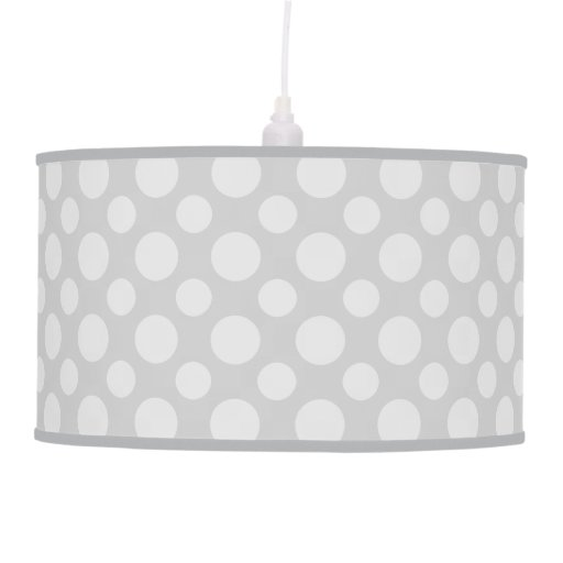 Transparent Dot Pattern Print Lamp Any color!