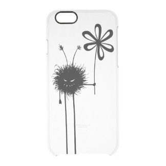 Transparent Evil Flower Bug Vintage Uncommon Clearly™ Deflector iPhone 6 Case