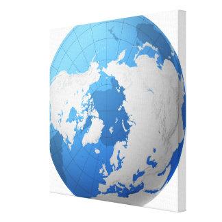 Transparent Globe 2 Canvas Print