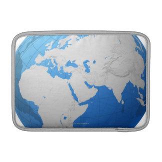 Transparent Globe 2 MacBook Air Sleeve