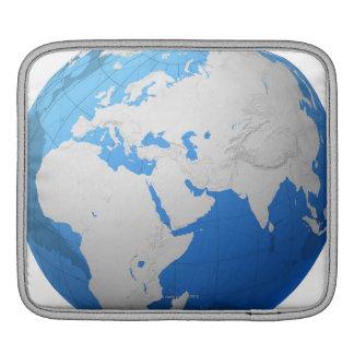 Transparent Globe 2 Sleeve For iPads