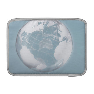 Transparent Globe 3 MacBook Air Sleeve