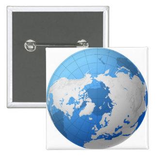 Transparent Globe Button