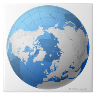 Transparent Globe Tile