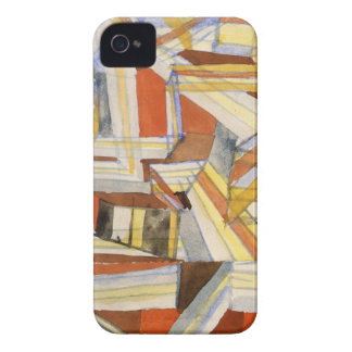 Transparent in perspective Grooved by Paul Klee iPhone 4 Cover