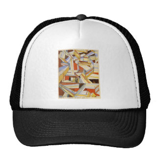 Transparent in perspective Grooved by Paul Klee Trucker Hat