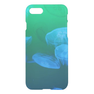Transparent Jelly fish iPhone 7 Case