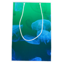 Transparent Jellyfish Medium Gift Bag