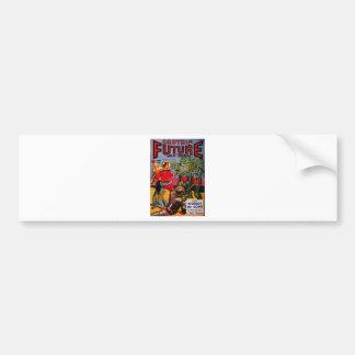 Transparent Lion Men Bumper Sticker