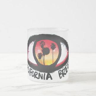 "Transparent mug ""California Breed """