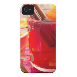 Transparent mug with citrus mulled wine, cinnamon Case-Mate iPhone 4 case