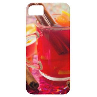 Transparent mug with citrus mulled wine, cinnamon iPhone SE/5/5s case