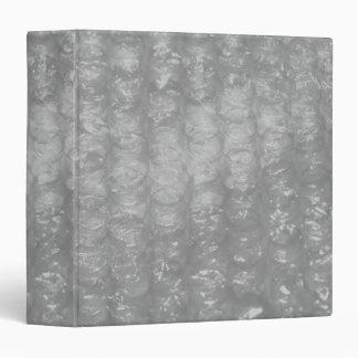 Transparent Novelty Bubblewrap 3 Ring Binder