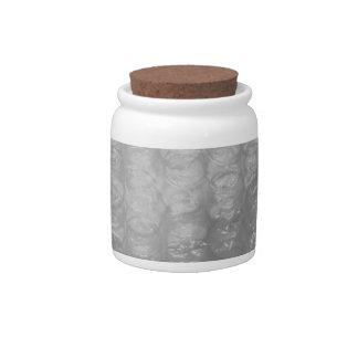 Transparent Novelty Bubblewrap Candy Jars