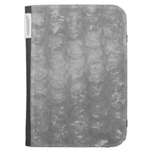 Transparent Novelty Bubblewrap Kindle Case