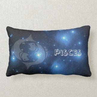 Transparent Pisces Lumbar Pillow