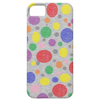 Transparent Rainbow Bubbles iPhone Case