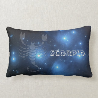 Transparent Scorpio Lumbar Pillow