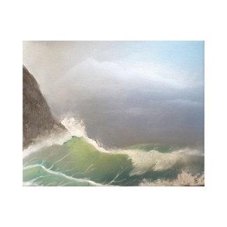 Transparent Sea Canvas Print