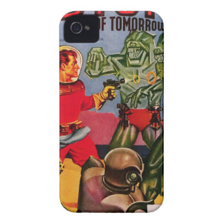 Transparent Space Bearmen iPhone 4 Case-Mate Case