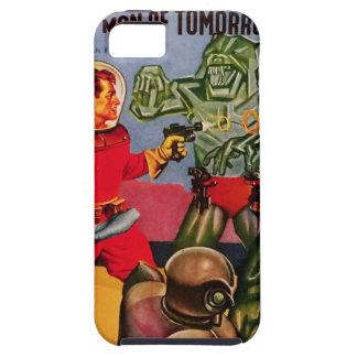 Transparent Space Bearmen iPhone SE/5/5s Case