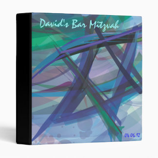 Transparent Star Bat Bar Photo Memory Book 3 Ring Binder