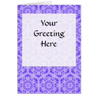 Transparent Tessellation 16 Lg Any Color Greeting Greeting Card