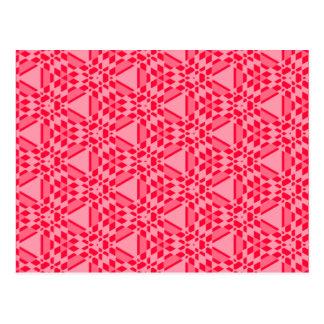 Transparent Tessellation 312 C Lg Any Color Postca Postcard