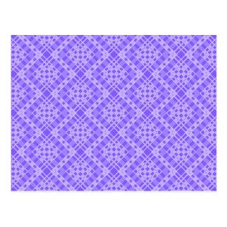 Transparent Tessellation 343 B Lg Any Color Postca Postcard
