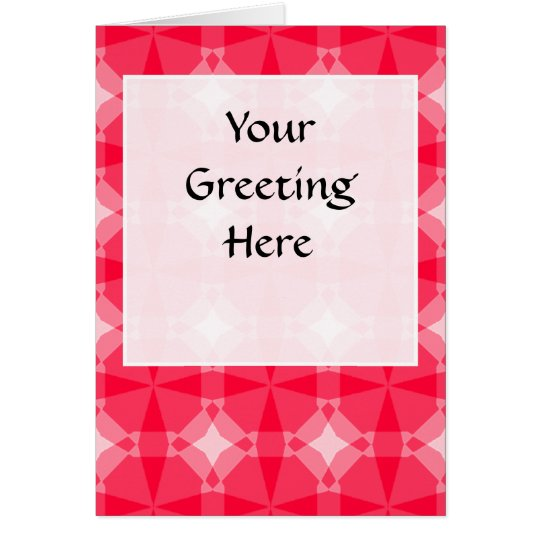 Transparent Tessellation 416 A Lg Any Color Greeti Card