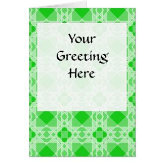Transparent Tessellation 44 B Lg Any Color Greetin Greeting Card