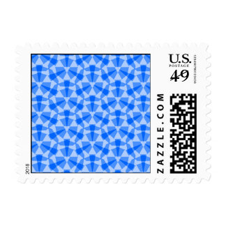 Transparent Tessellation 639 A Lg Any Color Postag Postage Stamp