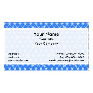 Transparent Tessellation Apollo 61 Lg Any Color Bu Business Card