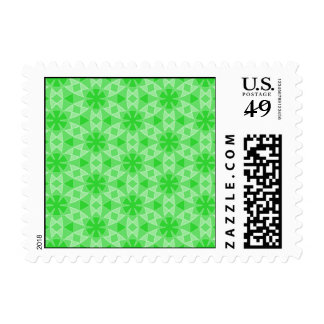 Transparent Tessellation Phi Lg Any Color Postage