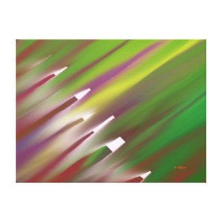 Transparent Underbrush Canvas Print