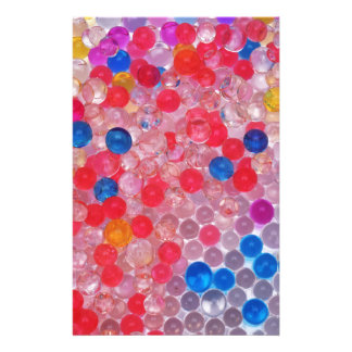 transparent water balls stationery