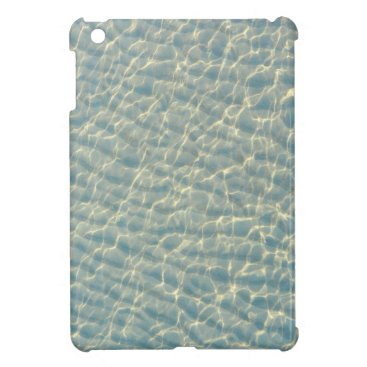 Beach Themed Transparent water case for the iPad mini