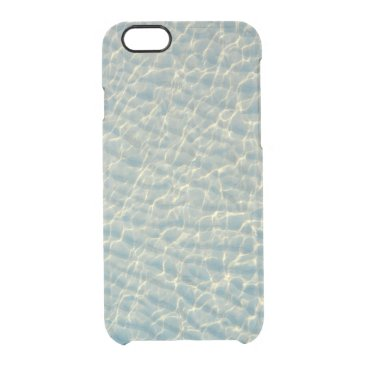 Beach Themed Transparent water clear iPhone 6/6S case