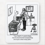 Transplant All Body Parts Mouse Pad