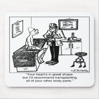 Transplant All Body Parts Mousepad