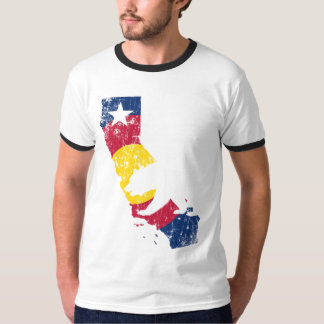 Transplant California State Colorado Flag T-Shirt