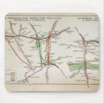 Transport map of London, c.1915 Mouse Pad