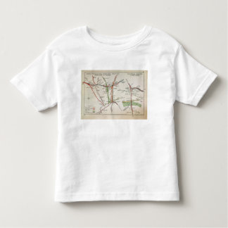Transport map of London, c.1915 Toddler T-shirt