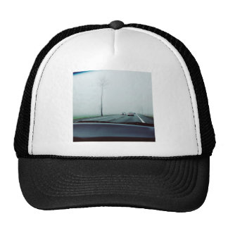 Transport Themed, View Across Dashboard To Two-Way Trucker Hat