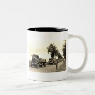 Transport Trucks Normandy 1944 Coffee Mugs