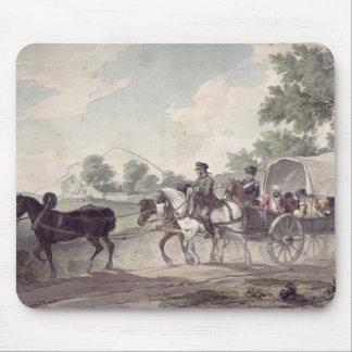 Transportación belga del carro herida del campo tapetes de raton