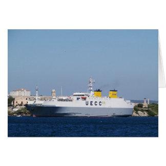 Transportador Montlhery del vehículo del transbord Tarjeta De Felicitación