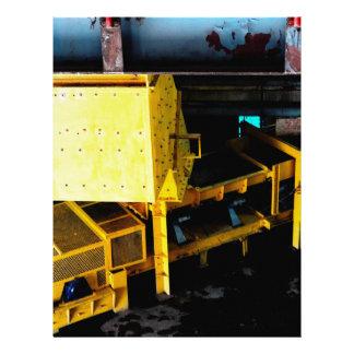 Transportador y gifts1 minero plantillas de membrete