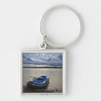 Transportando en balsa en el río de Talkeetna, Ala Llaveros Personalizados