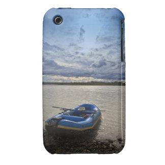 Transportando en balsa en el río de Talkeetna, Case-Mate iPhone 3 Fundas